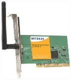 NetGear 108Mbps 802.11g Wireless PCI Adapter (WG311TEE)