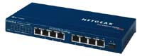 NetGear 8 x 10/100 ProSafe Ethernet Switch
